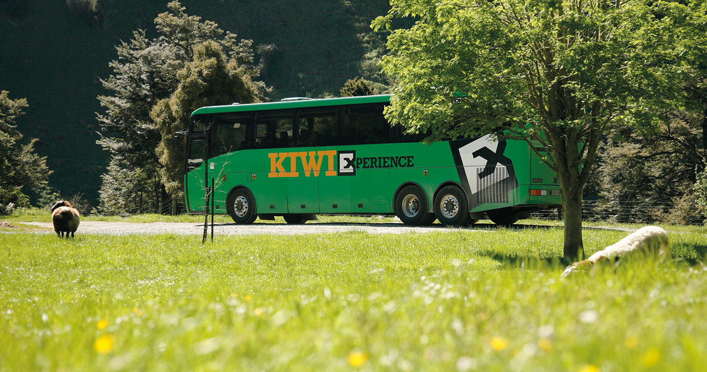 Kiwi Experience Bus Pass – The Whole Kit & Caboodle