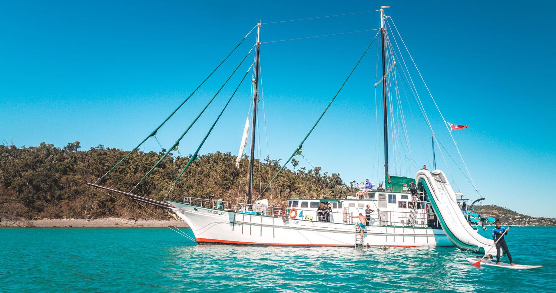 new horizon whitsundays sailing adventure australia backpacker airlie beach