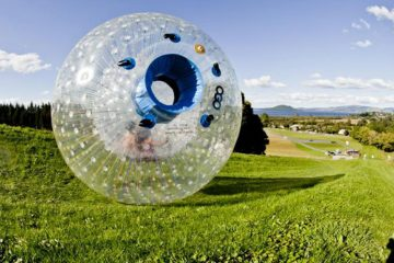 ogo zorbing rotorua new zealand north island