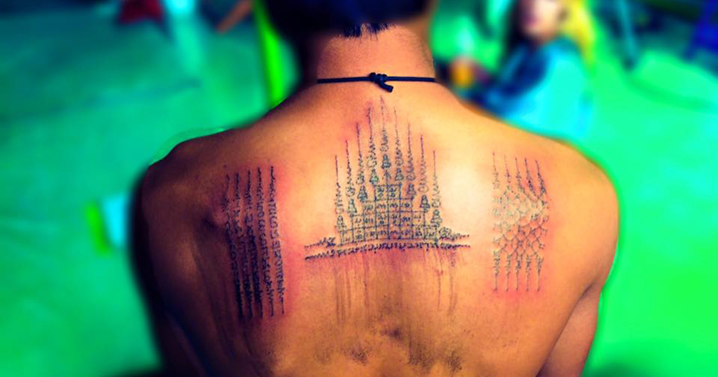 Sak Yant Bamboo Tattoo Experience - Bangkok | RTW Backpackers