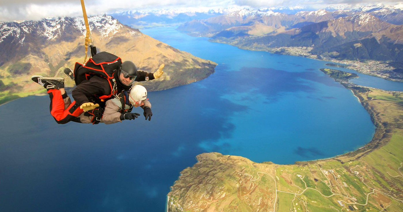 Tandem Skydive In Queenstown