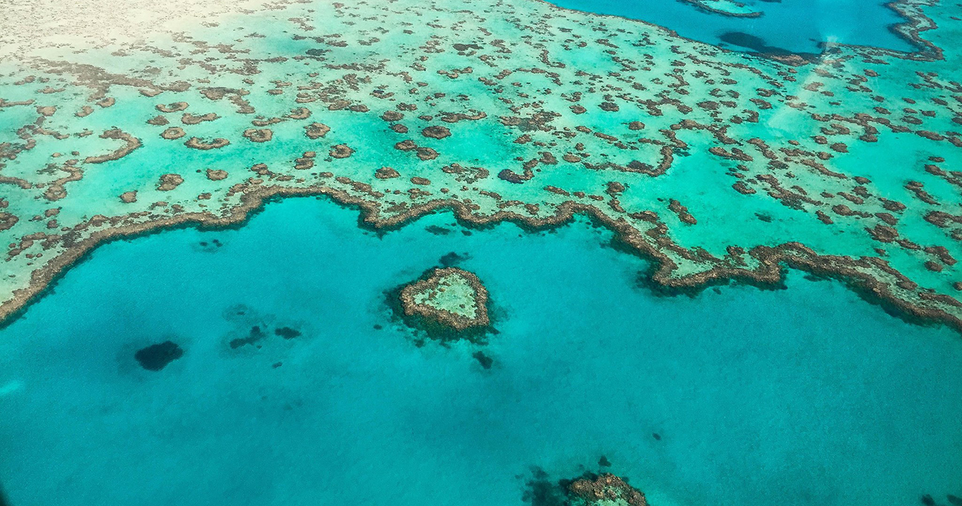 Heart Reef & Whitehaven Beach Scenic Flight