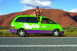 jucy campervan hire australia condo crib champ east coast backpacker