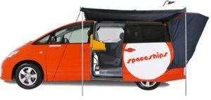 spaceships campervan hire australia beta 2 person backpacker
