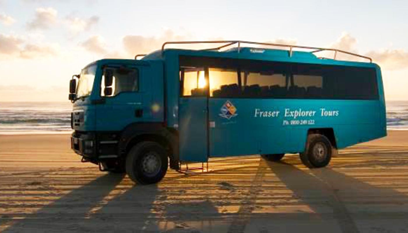 Fraser Island Day Trip With Fraser Explorer