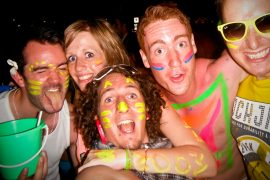 full moon party thailand koh phangan package deal hostel