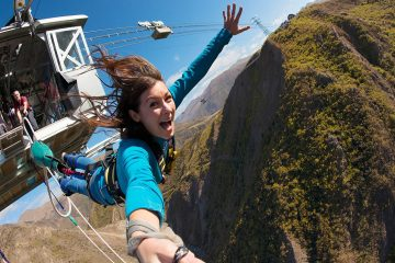 nevis bungy jump queenstown aj hackett new zealand backpacker