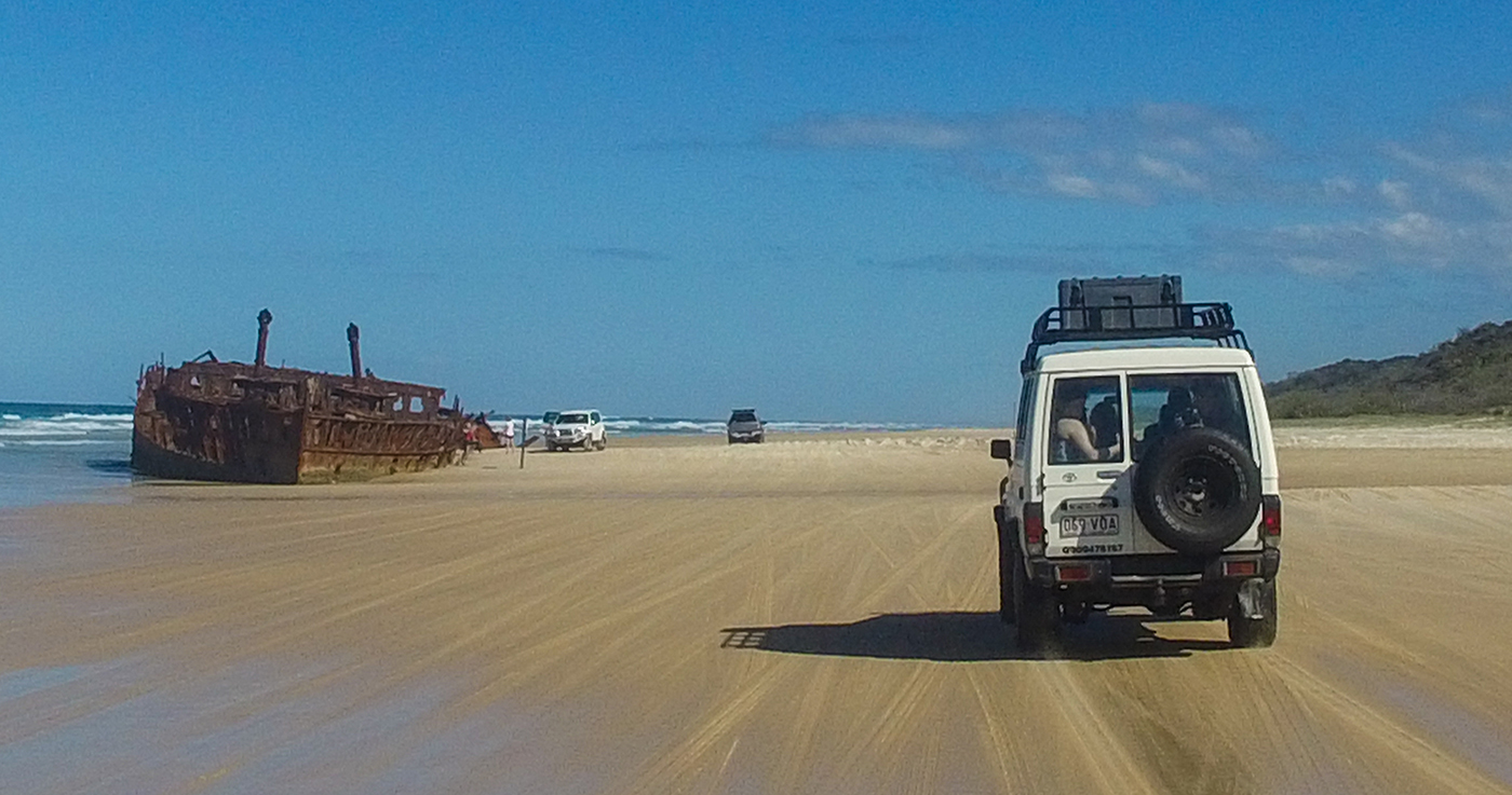 Nomads Fraser Island Safari (Hostel Style) – 2 Day Option