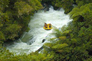 white water rafting rotorua Kaitiaki Adventures new zealand north island adrenaline