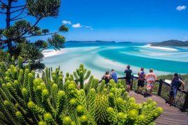 whitsunday islands day trip ocean rafting airlie beach australia east coast
