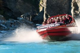 shotover jet queenstown new zealand