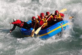white water rafting queenstown challenge rafting new zealand shotover river