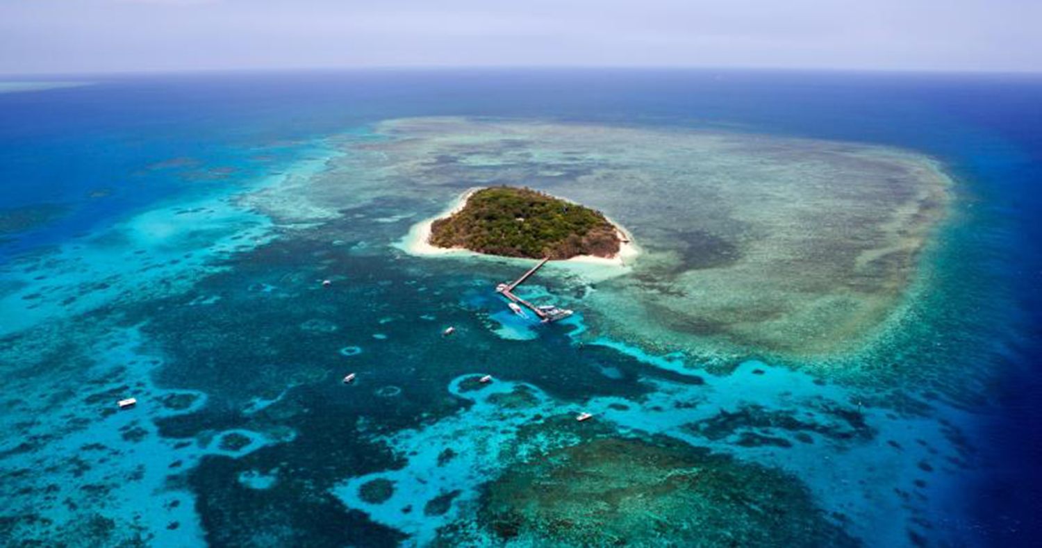 Great Barrier Reef Scenic Flight With Gsl Aviation Rtw