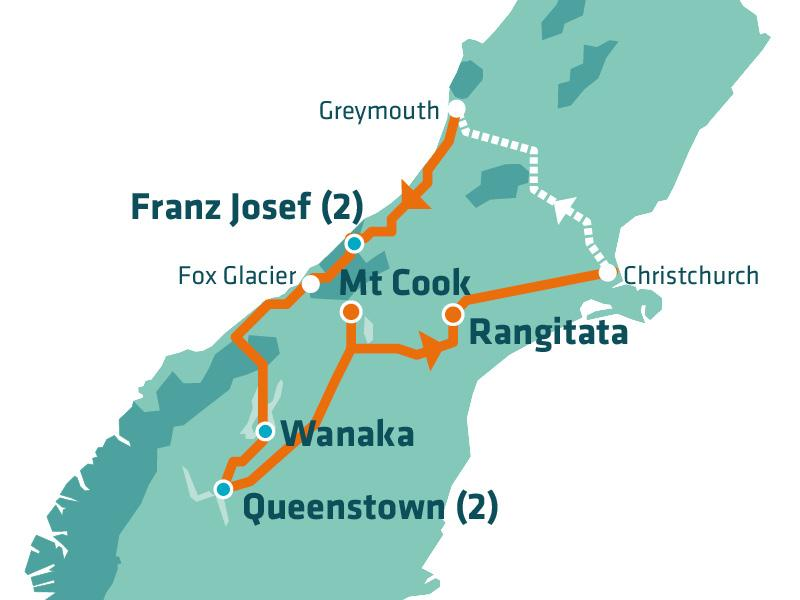 stray new zealand short q pass south island hop on hop off bus kiwi backpacker