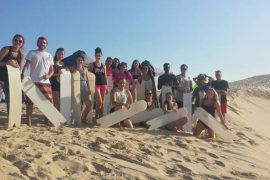 port stephens day trip sydney backpacker coast warriors sand boarding