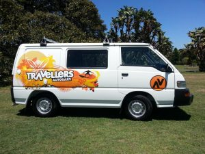 travellers auto barn chubby campervan hire australia budget