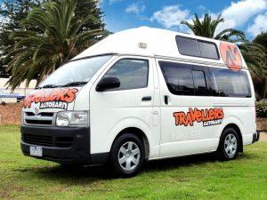 travellers autobarn kuga campervan hire australia budget