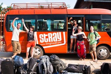 stray asia hop on hop off bus pass thailand laos cambodia vietnam backpacker