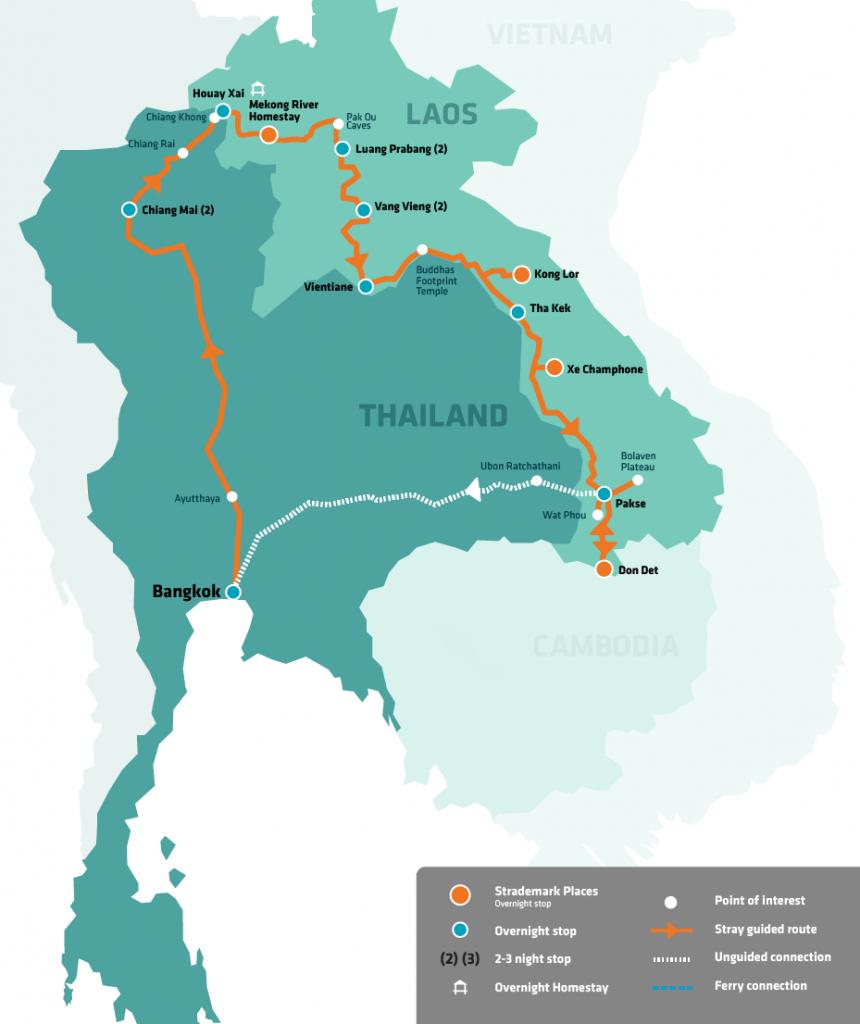 stray asia little mekong pass thailand cambodia vietnam backpacker