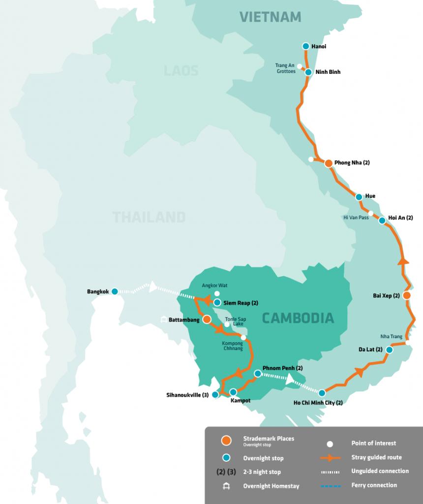 Stray Asia Moc Bai Pass Thailand Cambodia Vietnam Rtw Backpackers