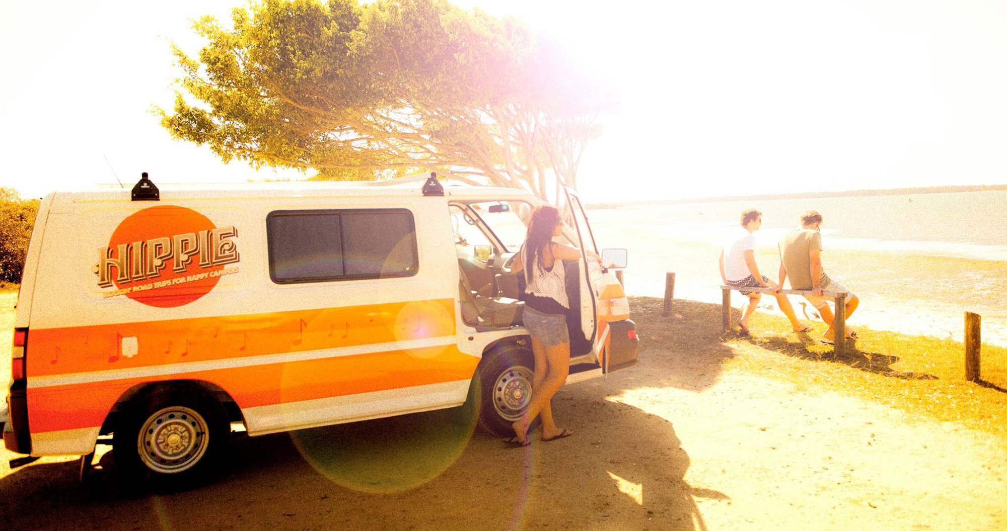 hippie campervan hire australia budget backpacker east coast oz cheap