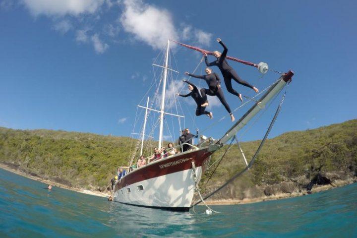 sv whitehaven whitsundays sailing adventure airlie beach backpacker east coast australia rtw backpackers