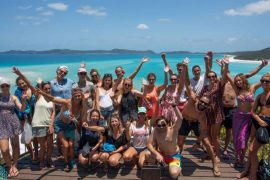 ride to paradise whitsunday islands airlie beach resort backpacker 1 night
