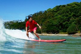 learn to surf in byron bay style surfing lesson