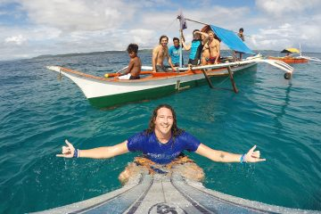 beginner surf camp siargao island philippines kermits learn to surf