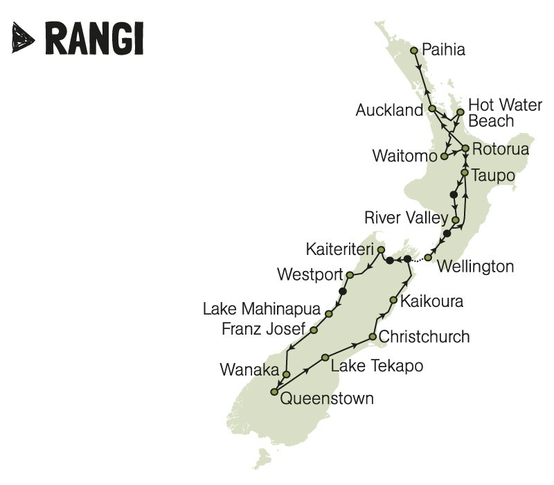 kiwi experience travel passes new zealand raw backpackers