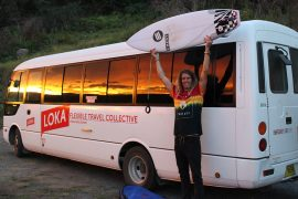 loka bus pass mick sydney to cairns australia east coast