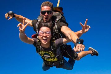skydive byron bay australia bucket list