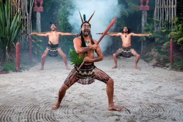 tamaki maori village experience rotorua new zealand north island rtw backpackers