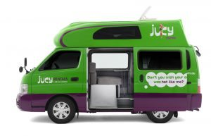 jucy campervan hire australia condo 4 person backpacker