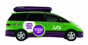 jucy campervan hire australia champ 4 person backpacker