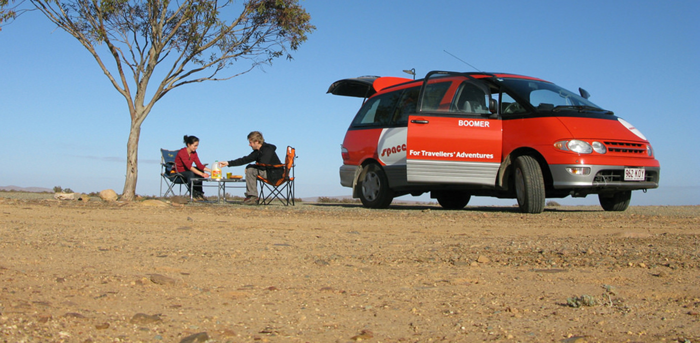 Spaceships Campervan Hire Australia