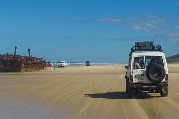 nomads fraser island tour 2 days rainbow beach noosa australia east coast