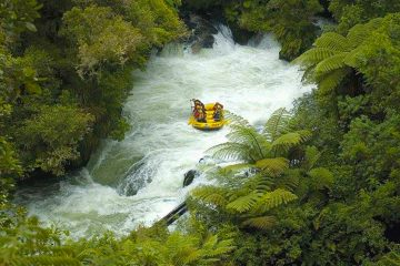 white water rafting rotorua Kaitiaki Adventures new zealand north island adrenaline
