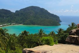 thai island hopping tour tru travels thailand south east asia backpacker koh phangan koh tao phi phi