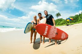 sri lanka surf camp beginner advanced lapoint