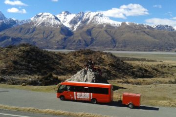stray journeys new zealand cook pass group tour backpacker kiwi