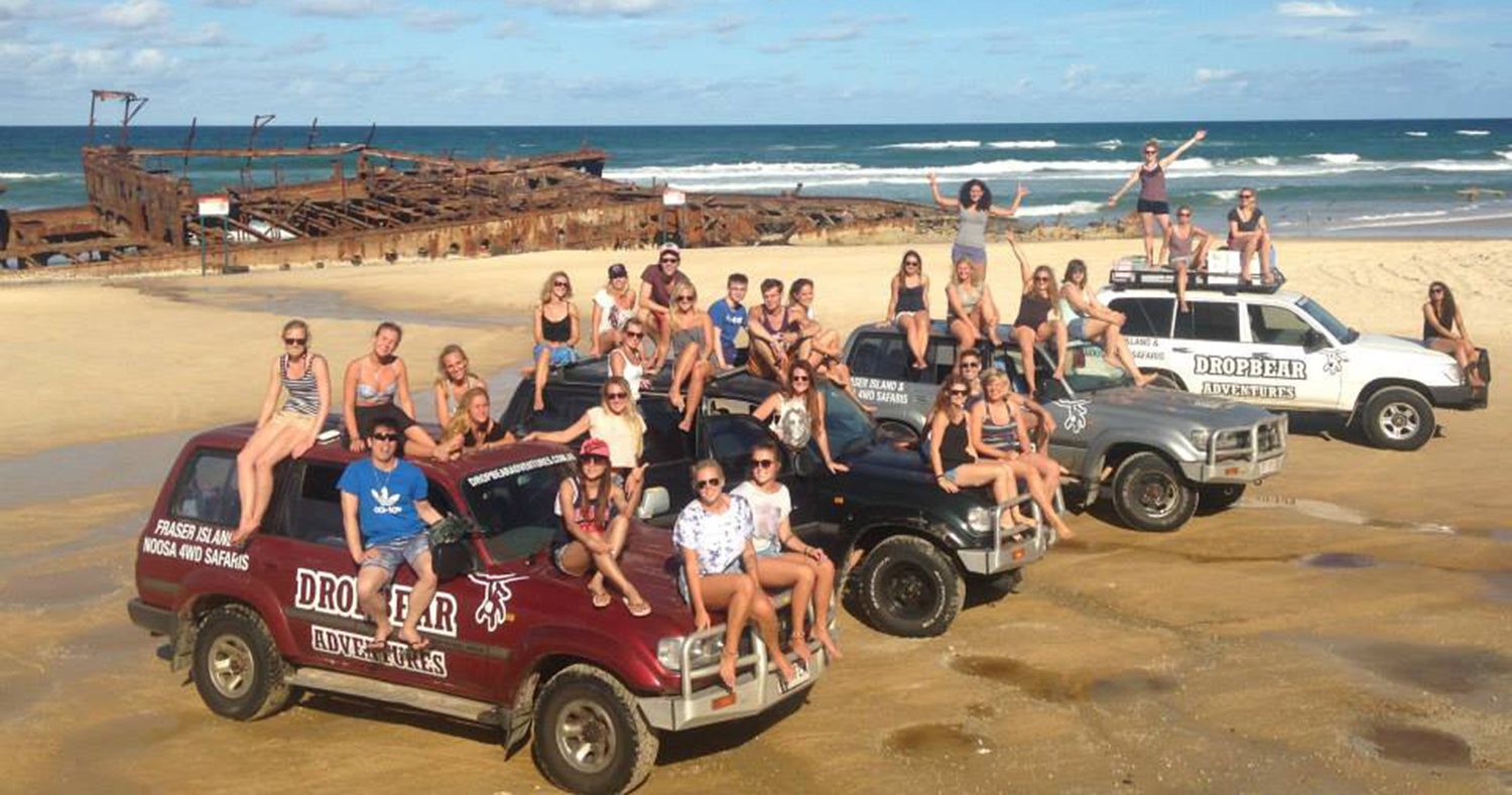 Dropbear Adventures Fraser Island Tour (2 Day Option)