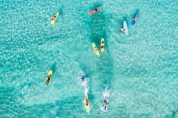 perth go surf lesson western australia backpacker