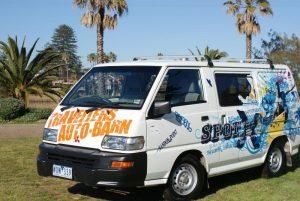 travellers auto barn budgie campervan hire australia budget