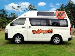 travellers autobarn hitop campervan hire australia budget