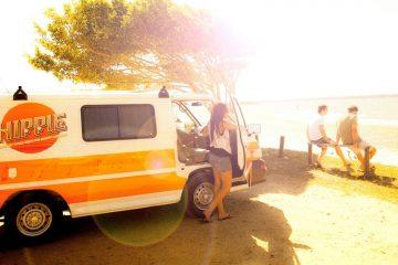 hippie campervan hire australia budget backpacker east coast oz cheap