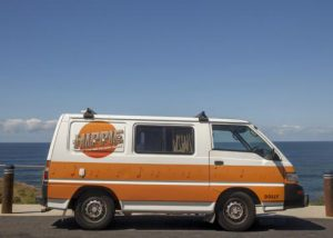 hippie drift campervan hire australia cheap budget backpacker east coast oz
